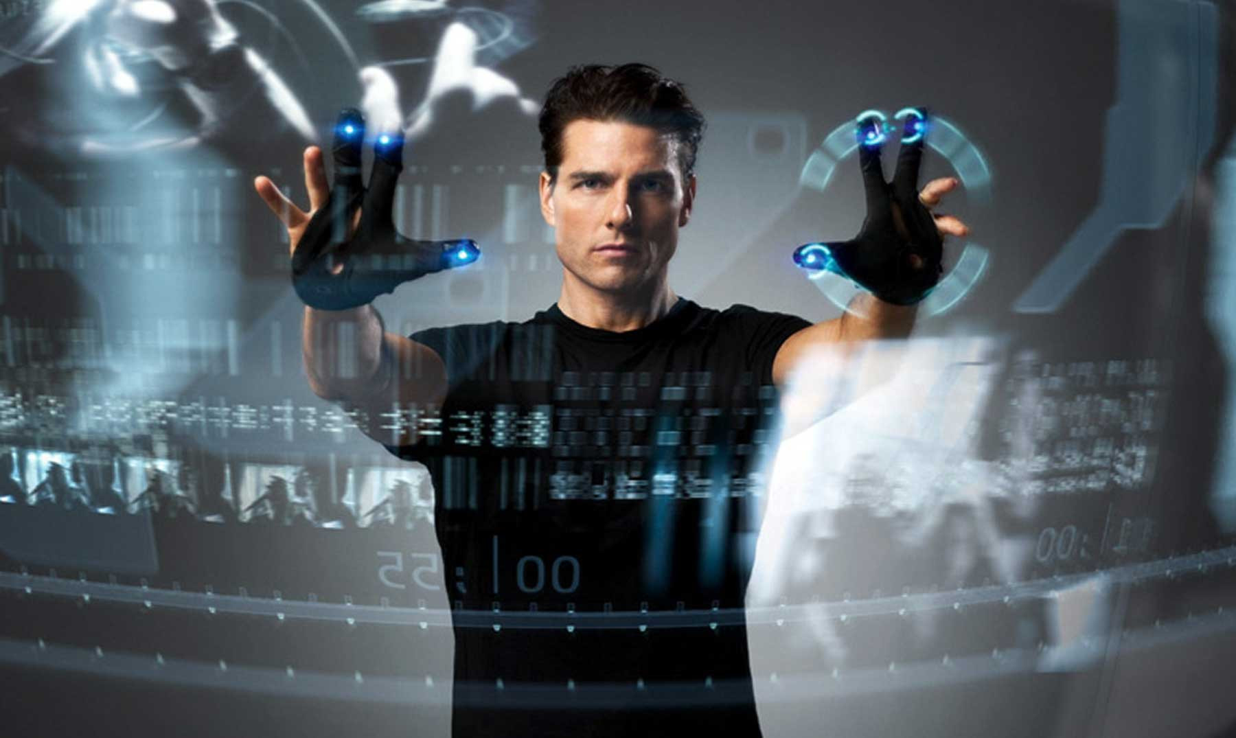 Présentation de l'interface de Minority Report